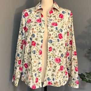 Vintage TALBOTS Petite Long Sleeve Button Up Shirt